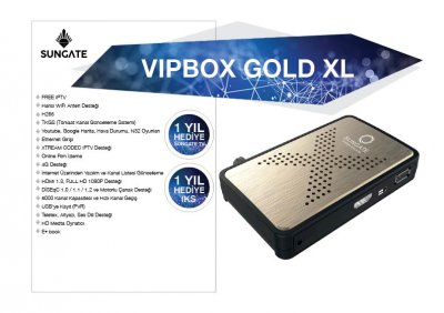 VIPBOX GOLD XL