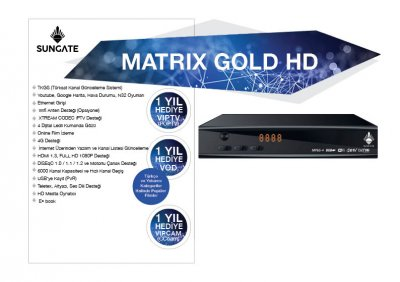 MATRIX GOLD HD